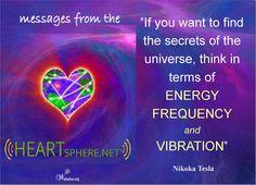 www.heartsphere.net Secrets Of The Universe, The Secret, Messages, Text Posts