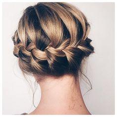 Colores de oto o para tu pelo casta o con matices - Peinados de fiesta media melena ...