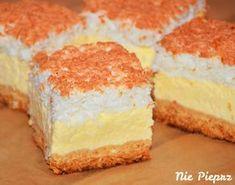 Polish Desserts, Polish Recipes, Carrot Cake Cheesecake, Sandwich Cake, Rice Cakes, Pastry Cake, Cheesecakes, Yummy Cakes, Vanilla Cake