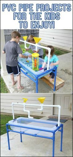 Thinking of ways to entertain and bond with your kids during the summer? Check out these awesome PVC projects!