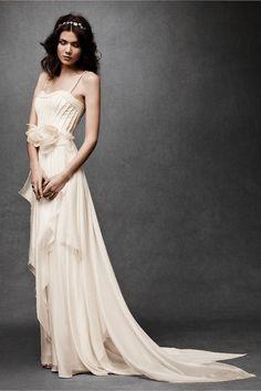 [Cascading Goddess Gown by BHLDN]