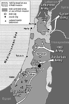 "1948 Arab–Israeli War. Because arabs lose this was they call ""Nakba"" Because they does not success drop jews to the sea."