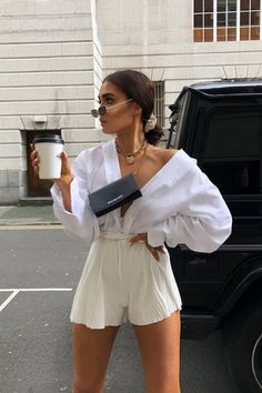 Short Outfits, Spring Outfits, Trendy Outfits, Cute Outfits, Fashion Outfits, Womens Fashion, Beach Outfits, Fashion Clothes, Fashion Accessories