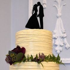 Wedding Cake Topper (Bride Kiss Groom /Hold Hands /Heart Touching /Romantic)