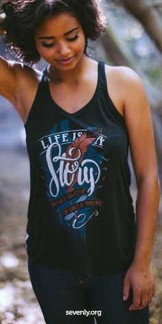 What were you up to in 4th grade? Probably playing on a playground, running around with friends. Right now children as young as 9 are being sex trafficked. A purchase here helps save a child from a life no one should have: http://www.sevenly.org/?cid=InflPinterest0002Joanna