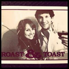 Roast and Toast invitations for a joint bridal party weekend before the wedding!