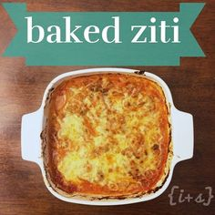 """21 Day Fix Baked """"ziti"""" without using your yellow containers!!! Link to recipe in my bio @inspiredsimplyfitnessproject"""