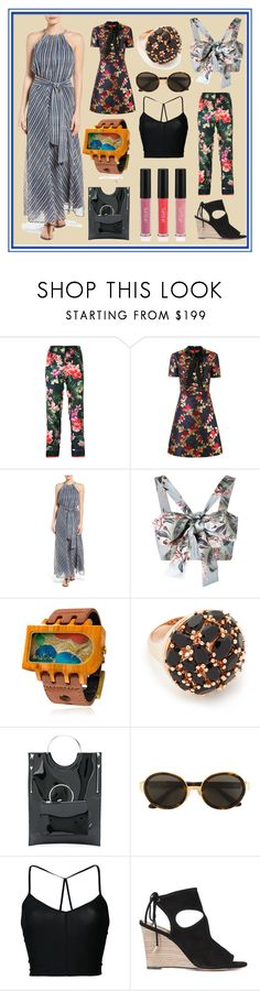 """Famous Style"" by cate-jennifer ❤ liked on Polyvore featuring F.R.S For Restless Sleepers, Gucci, Tommy Bahama, Zimmermann, Mistura, Bronzallure, Toga, RetroSuperFuture, Ann Demeulemeester and Aquazzura"