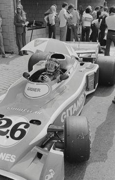 Jacques Laffite, Ligier JS5 Dutch Grand Prix 1976