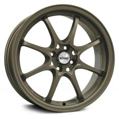 KONIG® HELIUM Wheels - Bronze Rims