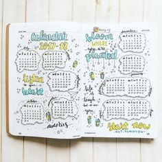 """2,354 Me gusta, 8 comentarios - Planner Inspiration (@showmeyourplanner) en Instagram: """"How adorable are these #sketchnotes from @nicokat.life. Another great way to record a snapshot of…"""""""