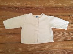 Baby Gap 6-12 months yellow jacket