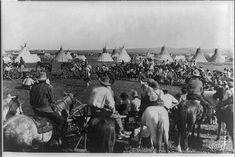 [Re-enactment of war dance at Blackfeet Indian reservation at Browning, Montana]