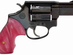 The Taurus Model 85 is a special single or double revolver with a pink mother of pearl grip. Pistol For Women, American Flag Photos, Pink Guns, Glock Models, Wilson Combat, Custom Glock, 38 Special, Hunting Girls, Surefire