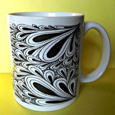 Ceramic Coffee Cup Mug 'Under The Sea' by TopFloorTreasures