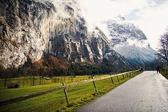 Mountains, Landscape, Roadway, Outdoor
