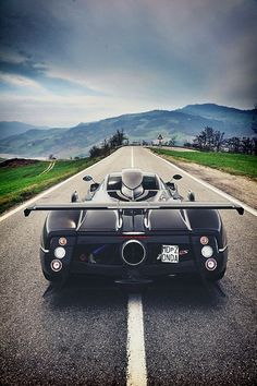 """supercars-photography: """" Pagani Zonda 760RS (source) """" - https://www.luxury.guugles.com/supercars-photography-pagani-zonda-760rs-source/"""