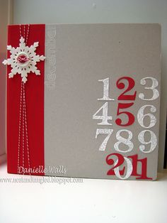 8 A4 Sheets of Poinsettia Christmas Card 300gsm New