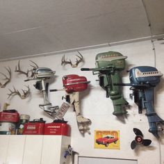 My collection of old outboard motors Classic Wooden Boats, Car Insurance Tips, Boat Engine, Fast Boats, Vintage Boats, Old Boats, Boat Trailer, Outboard Motors, Boat Dock