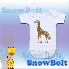 giraffe on extra soft baby o... from snowbolt on Wanelo