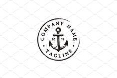 Vintage logo stamp graphics new Ideas Vintage Interior Design, Vintage Logo Design, Graphic Design, Self Branding, Logo Branding, Vintage Love Quotes, Anchor Logo, Resort Logo, Vintage Stamps