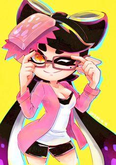 Splatoon 2 Art, Splatoon Comics, Splatoon Memes, Anime Kawaii, Kawaii Cute, Splatoon Squid Sisters, Squid Girl, Callie And Marie, Video Game Art