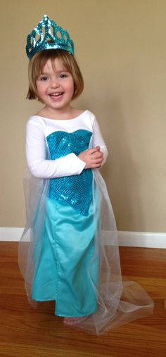 Elsa Frozen Ice Dress PDF Pattern Pattern Sizes by joy2sew