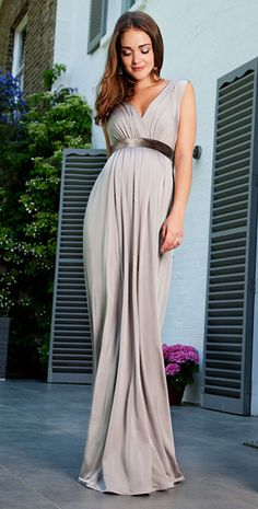 Anastasia Maternity Gown (Silver Screen) by Tiffany Rose