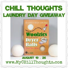 Dry your #clothdiapers and regular laundry quickly with The @Woolzies Dryer Balls #Giveaway via @chillramblings