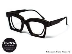 Design: Livio Graziottin, Model: Optical Mask T3, Since: 2012, Web: www.kuboraum.com