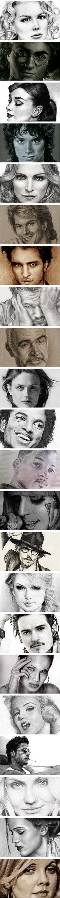 Celebrity Drawings!!!