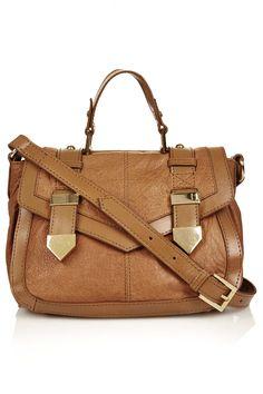 Metal Tab Satchel - Bags & Wallets - Bags & Accessories - Topshop USA