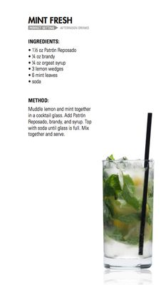 MINT FRESH | Patrón Tequila