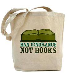 """""""Ban ignorance not books"""" Esto es lo que me pueden regalar para reyes :)"""