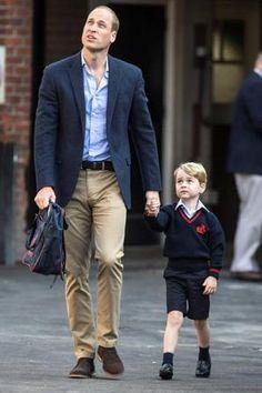 Premier Jour d'école pour le petit prince Georges