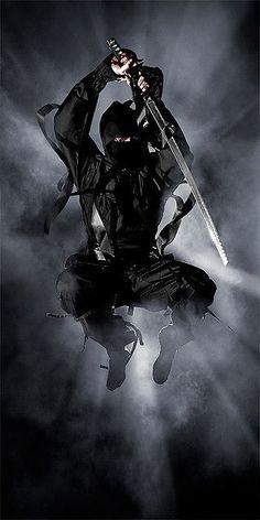 ♂ Japanese Martial Arts -  Black & white Ninjutsu