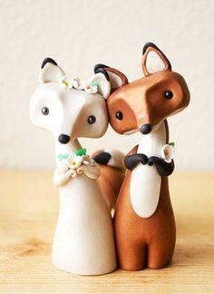 Raposinhas de casamento