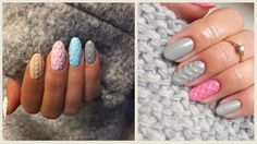 Winters are the best time to relax and enjoy the cozy feeling under those warm sweaters. Imagine matching your nail art pattern with your favorite sweater this season. This is possible with the cable knit