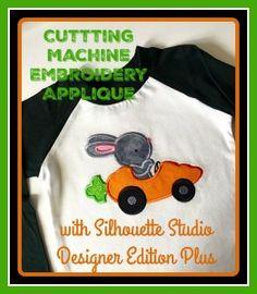 Machine Embroidery Appliqué with DE Plus