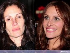 JULIA ROBERTS  #stars #celebrities #famosas #famosos #celebridades #no #makeup #sin #maquillaje