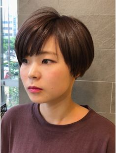 Asian Short Hair, Short Hair Cuts, Short Hair Styles, Pixie, My Style, Hairstyles, Haircuts, Bob Styles, Short Hairstyle