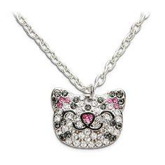 Soft Kitty Sparkle Necklace