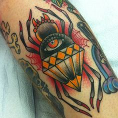 Tattoo by Alex Strangler