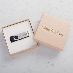 Personalisierte USB-Flash-Laufwerk mit Kraft, Verpackung, 4gb, 8gb, 16gb und 32gb White innen Custom USB