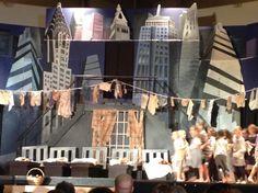 St. Patrick Catholic School Production of Annie Jr., Nov 2013 Orphanage scene