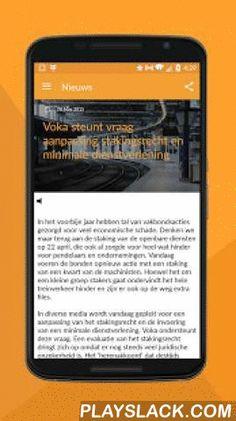 Voka Mechelen  Android App - playslack.com , Voka – Kamer van Koophandel Mechelen brengt ondernemers samen. Deze app maakt netwerken nog gemakkelijker, zorgt ervoor dat u op de hoogte blijft van alle nieuws en laat u ontdekken wat Voka voor u en uw collega's kan betekenen. Dankzij de app kan u razendsnel inschrijven voor evenementen en opleidingen. Enkele features: * Schrijf snel en eenvoudig in voor evenementen en opleidingen * Maak uw eigen digitaal visitekaartje aan * Blijf op de hoogte…