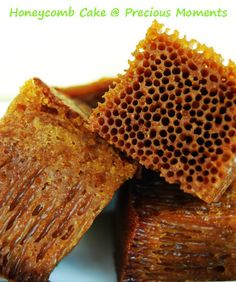 Honeycomb Cake with condensed milk