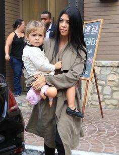 Kourtney Kardashian Photos - The Kardashians Celebrate Caitlyn Jenner's Birthday - Zimbio