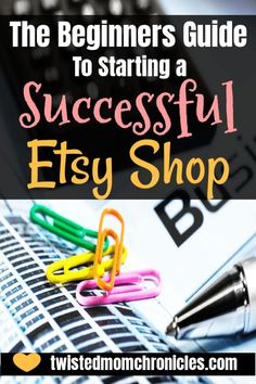 Learn how you can start a successful Etsy Shop with these 9 great tips. Learn what you need to do to super charge your Etsy shop as a new shop owner. Etsy Business, Craft Business, Business Ideas, Business Meme, Creative Business, Online Business, Starting A Business, Business Planning, Business Management