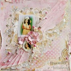 Treasuring Memories: Remember Believing layout for the Magical mid- month reveal at Scrap Around The World